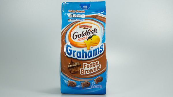 Goldfish Fudge Brownie